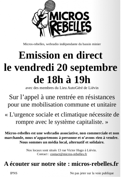 Fichier:20190920-affiche emission hebdo direct micros-rebelles.png